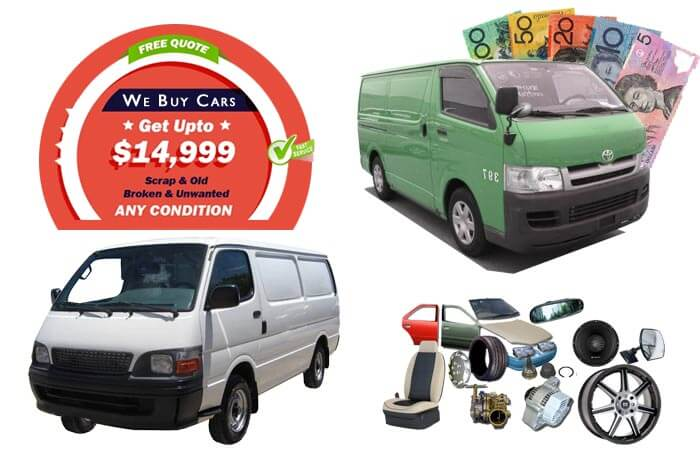 Quality Car Parts at Hiace Wreckers